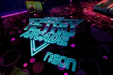 New Retro Arcade Neon 8