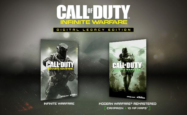 Call of Duty Infinite Warfare Digital Legacy Edition promo