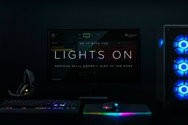 Corsair RGB Lights ON ban