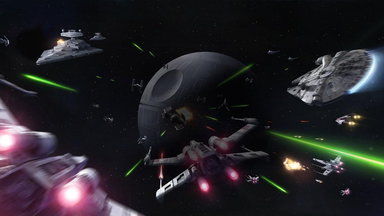 star wars battlefront la estrell de la muerte 2