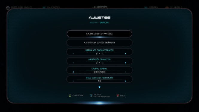 Mass Effect Andromeda Análisis Ajustes Graficos (1)