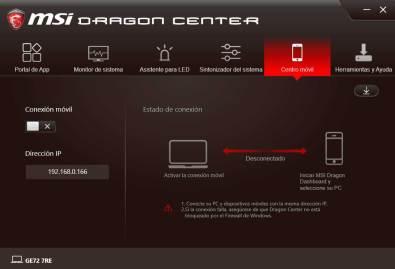 MSI GE72 Apache Pro - MSI DRAGON CENTER (5)