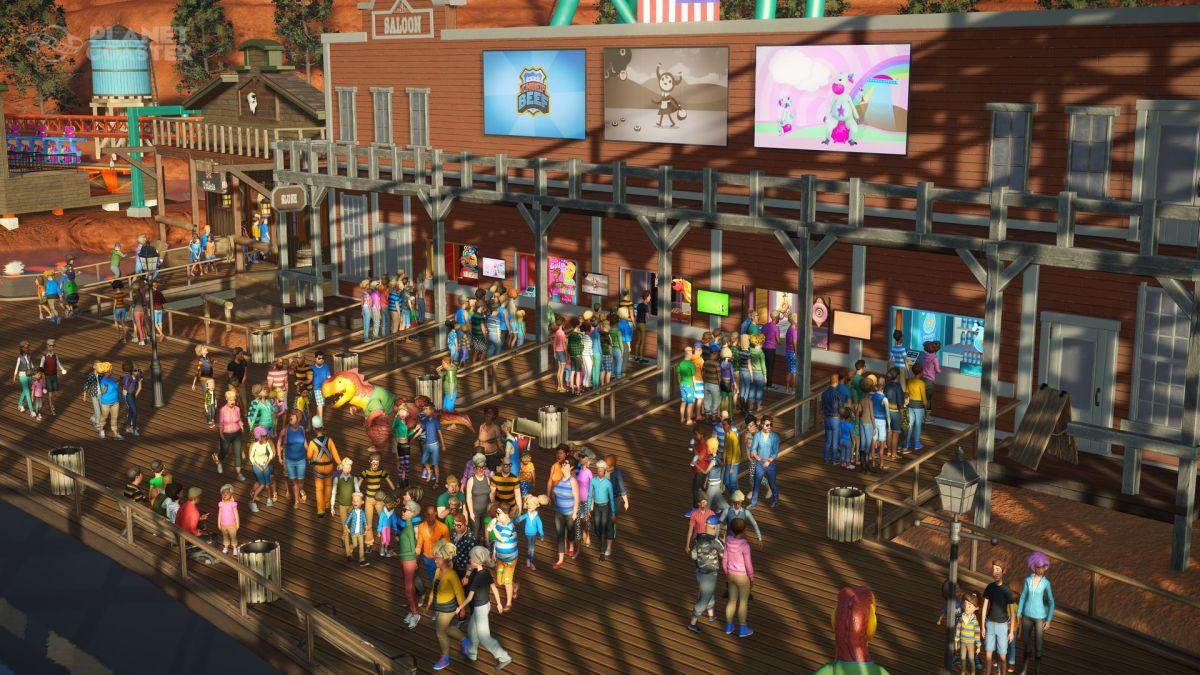 actualización de verano para Planet Coaster 2