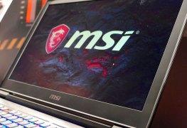 nuevos portátiles de MSI
