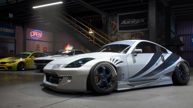 personalización de Need for Speed Payback