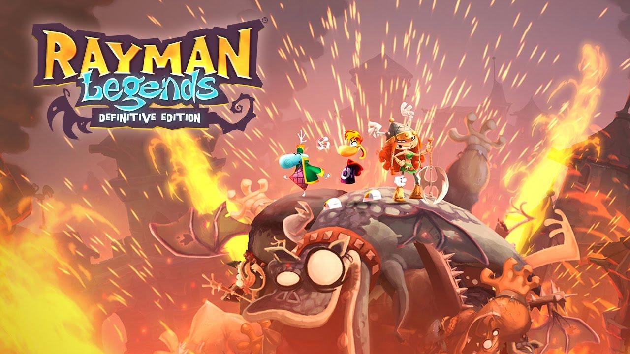 Rayman Legends Definitive Edition db
