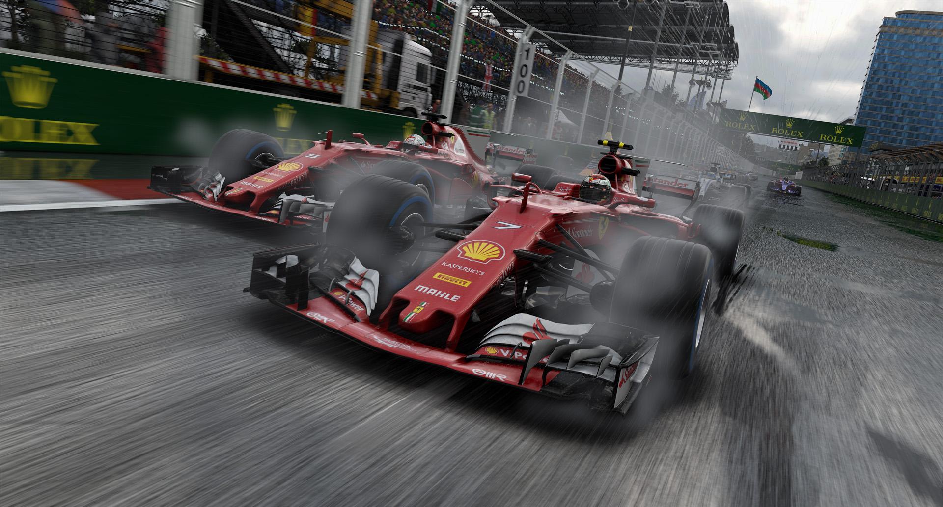 gameplay de F1 2017