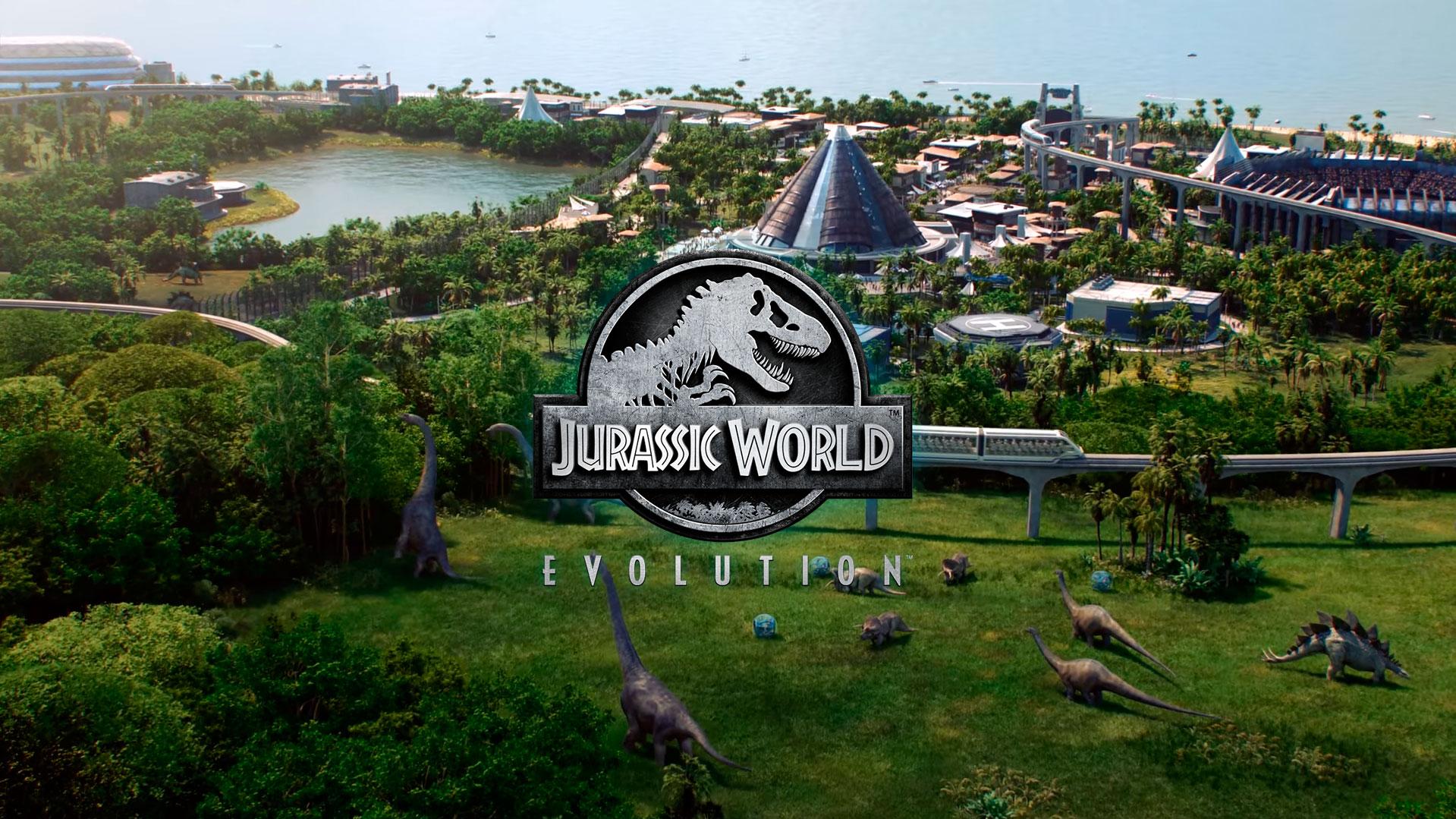 simulador Jurassic World Evolution