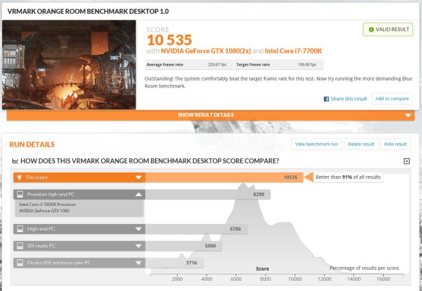 MSI Aegis Ti3 Análisis - VMark Orange