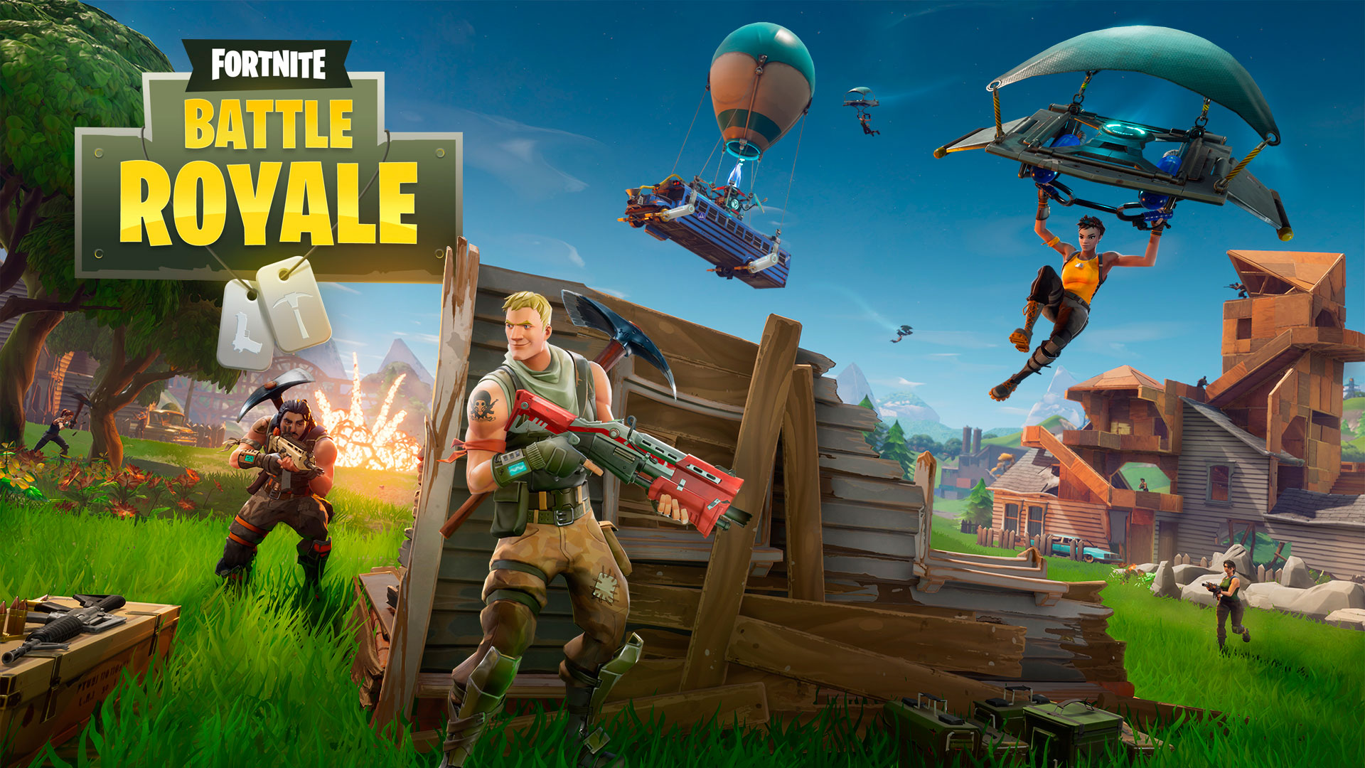 El Battle Royale de Fortnite ya se puede jugar gratuitamente