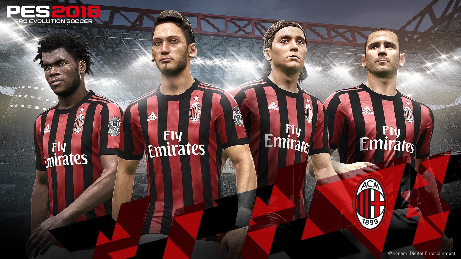 KONAMI y el AC Milan