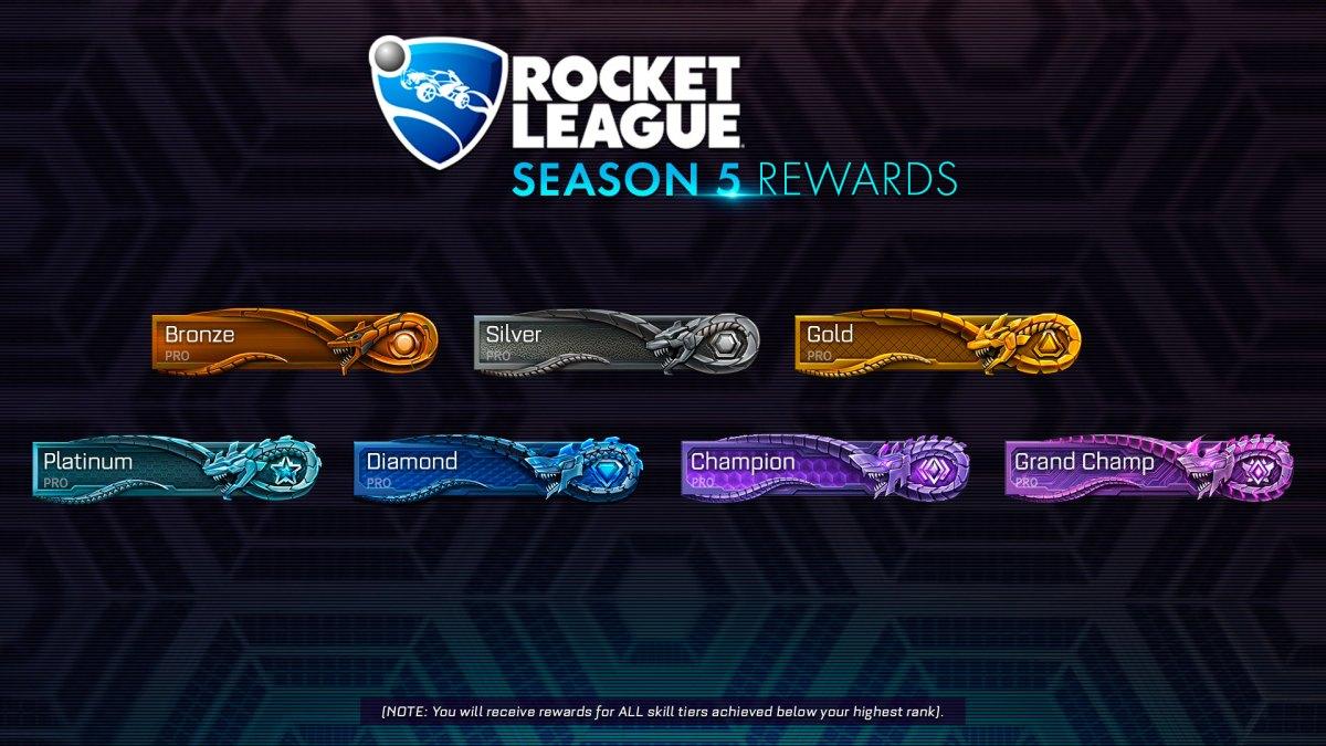 temporada 5 de Rocket League