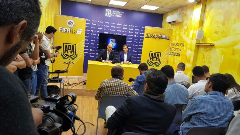 Agrupación Deportiva de Alcorcón competirá en eSports