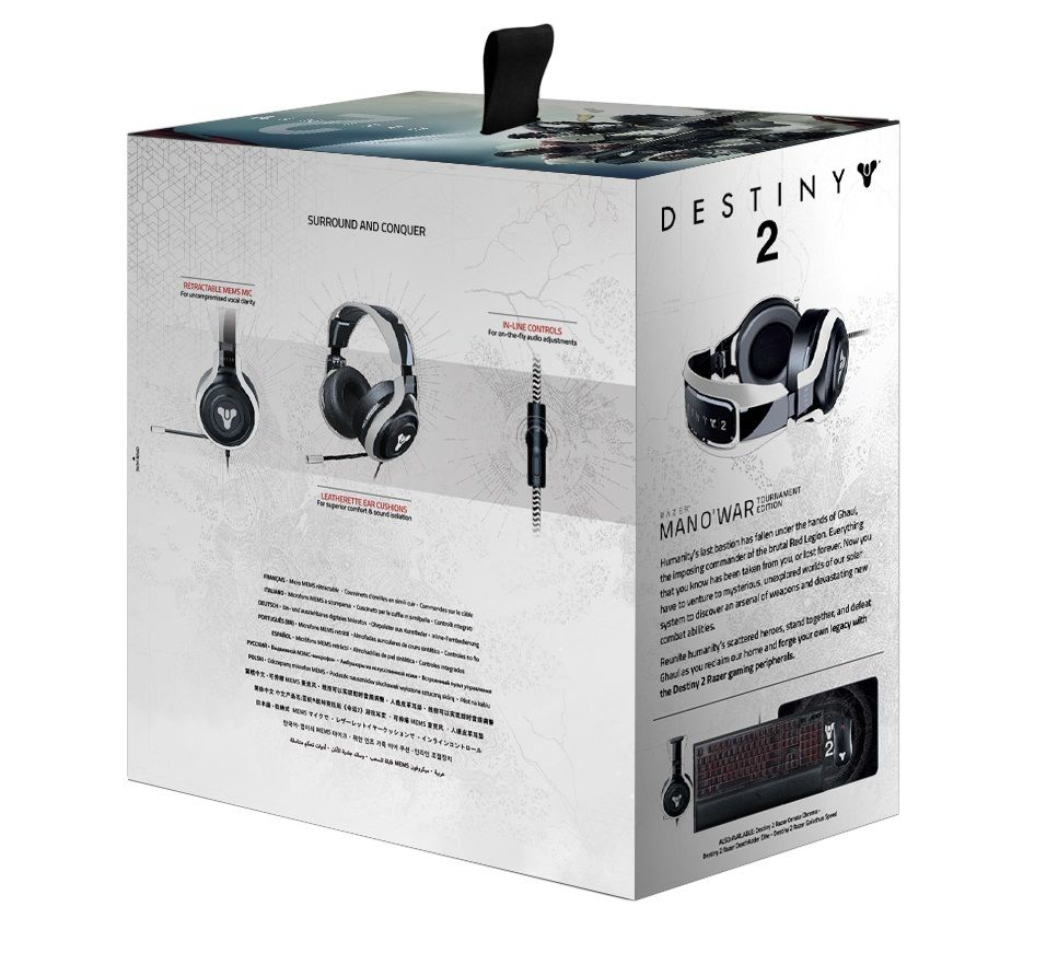 Destiny 2 Razer ManO'War Tournament Edition