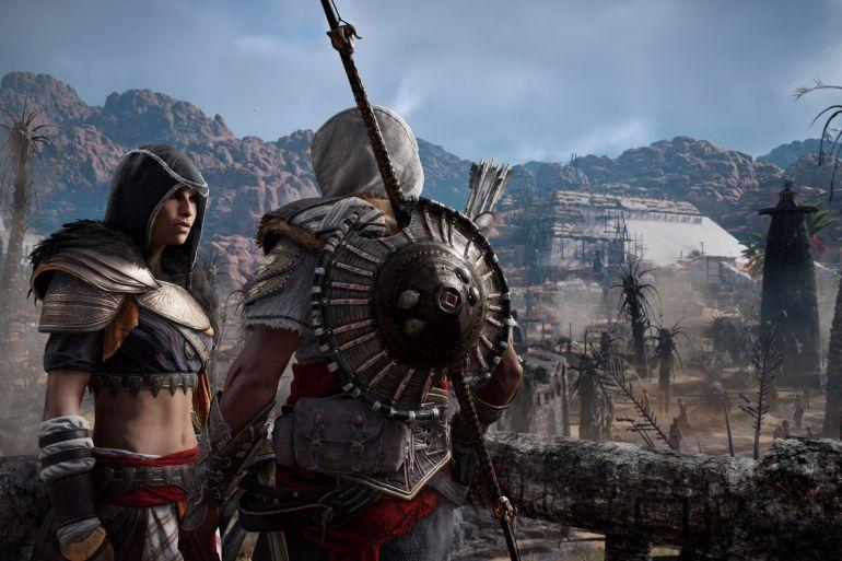 primer contenido descargable de Assassin's Creed Origins