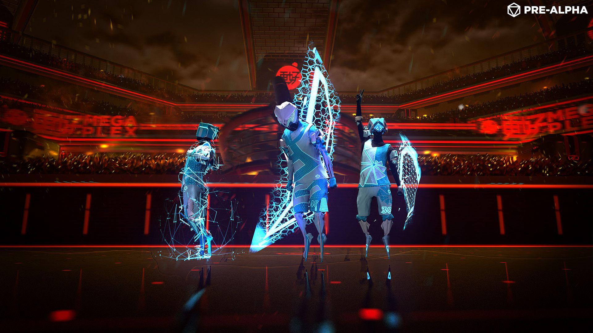 beta abierta de Laser League