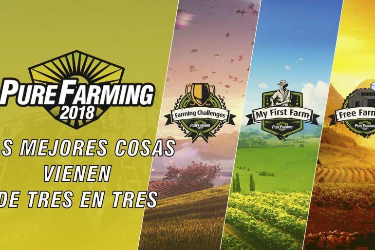 Pure Farming 2018 tendrá tres modos de juego
