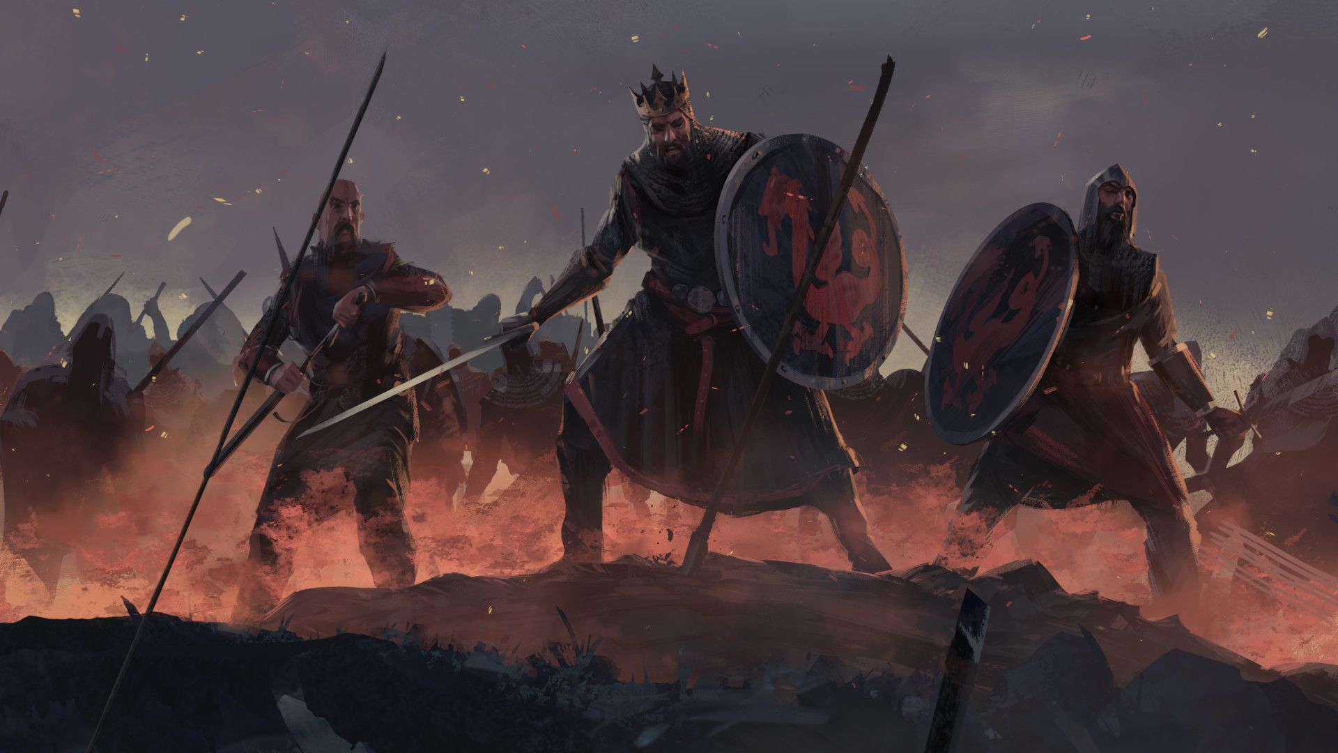 tráiler cinematográfico de Total War Saga: Thrones of Britannia