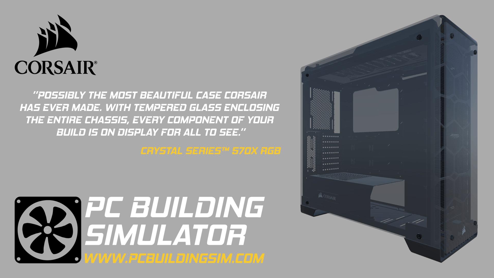 Corsair estará en PC Building Simulator