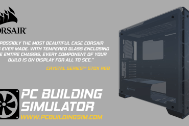 Corsair estará en PC Building Simulator