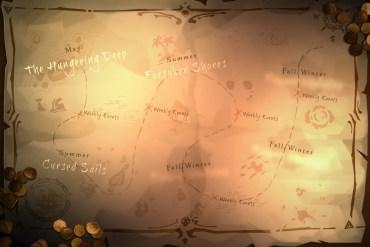 plan de contenido de Sea of Thieves