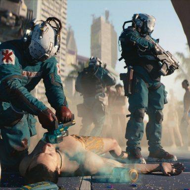 Cyberpunk 2077 E3 2018 5
