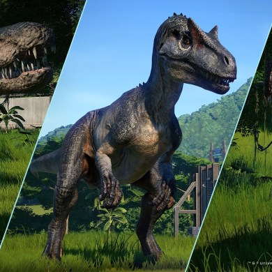 Fallen Kingdom de Jurassic World Evolution