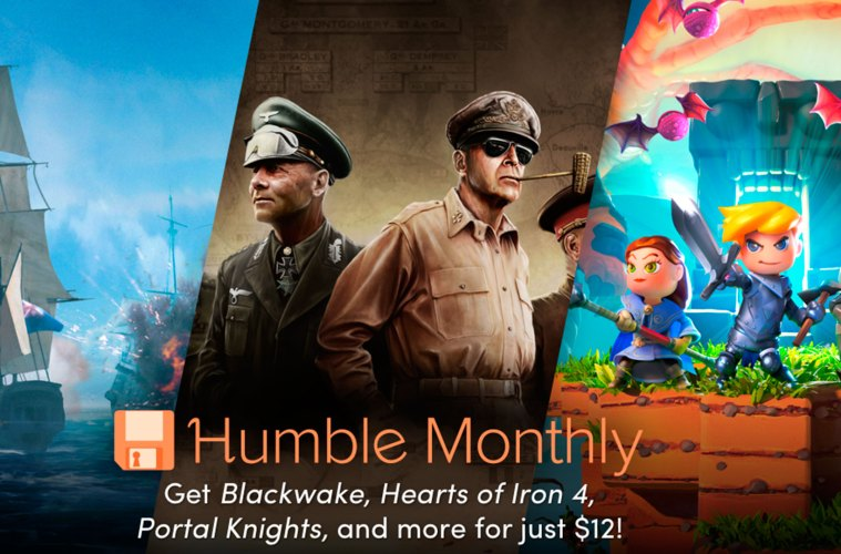 Humble Monthly Bundle de julio 2018