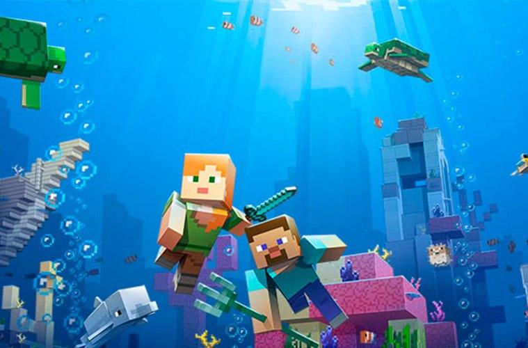 Aquatic de Minecraft