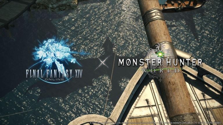 Colaboración Monster Hunter World y FINAL FANTASY XIV Stormblood 2