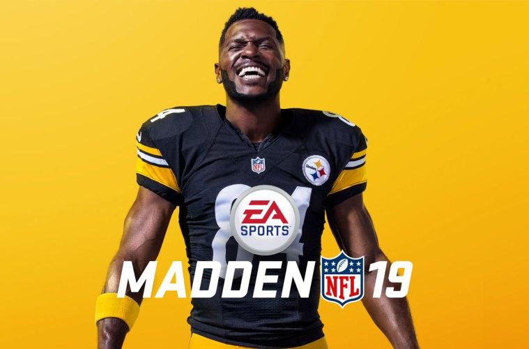 Antonio Brown será portada de Madden NFL 19