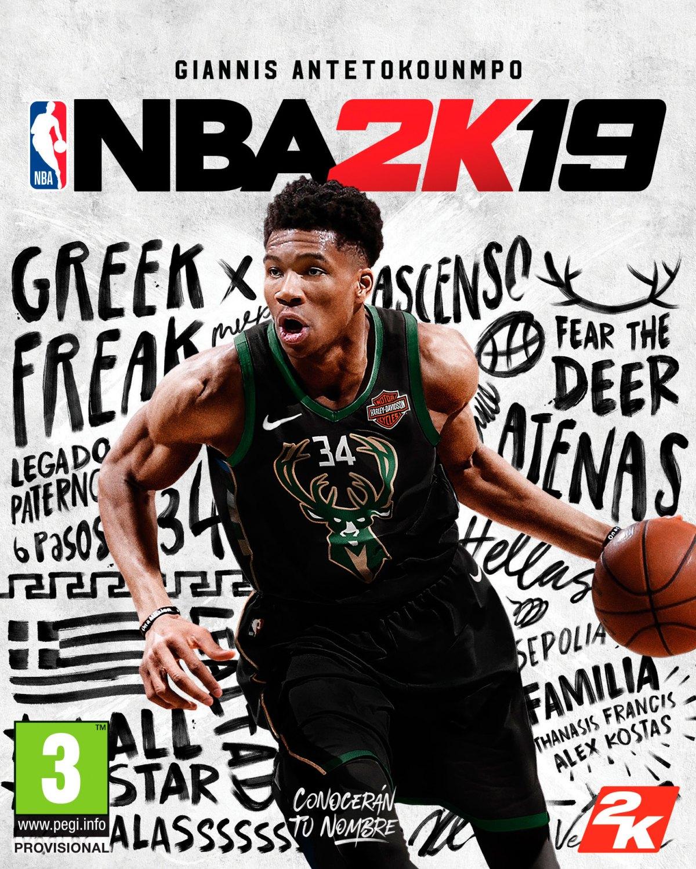 portada de la Edición Estándar de NBA 2K19