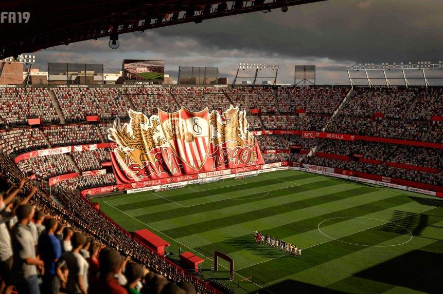 FIFA 19 Sevilla Pizjuan