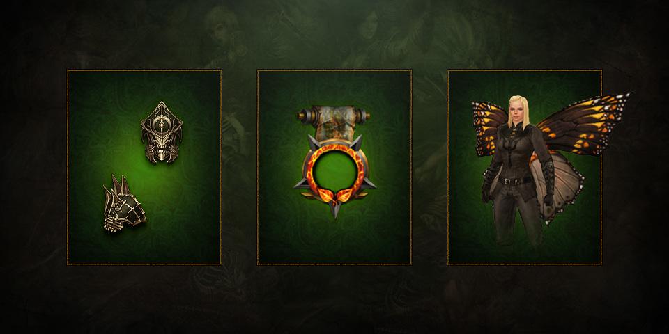 Diablo III Nuevas recompensas cosméticas