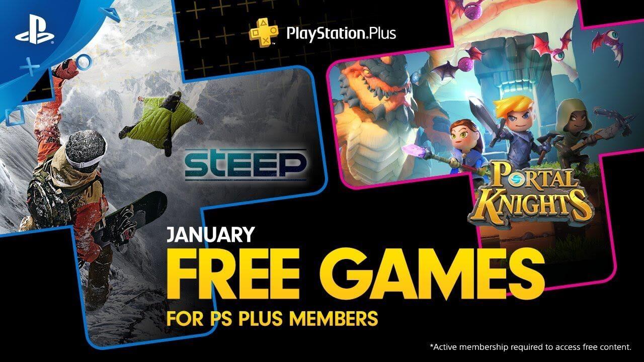 PlayStation Plus de enero 2019