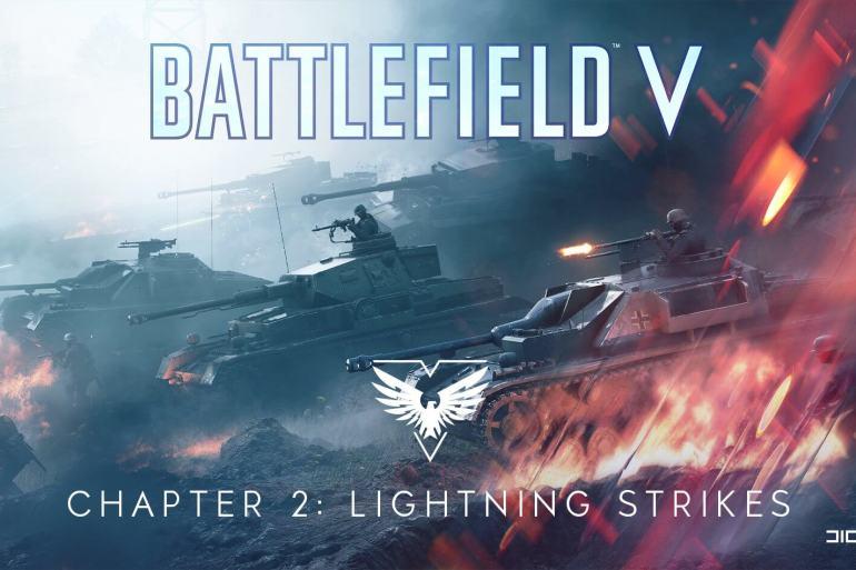 Relámpagos de guerra de Battlefield V