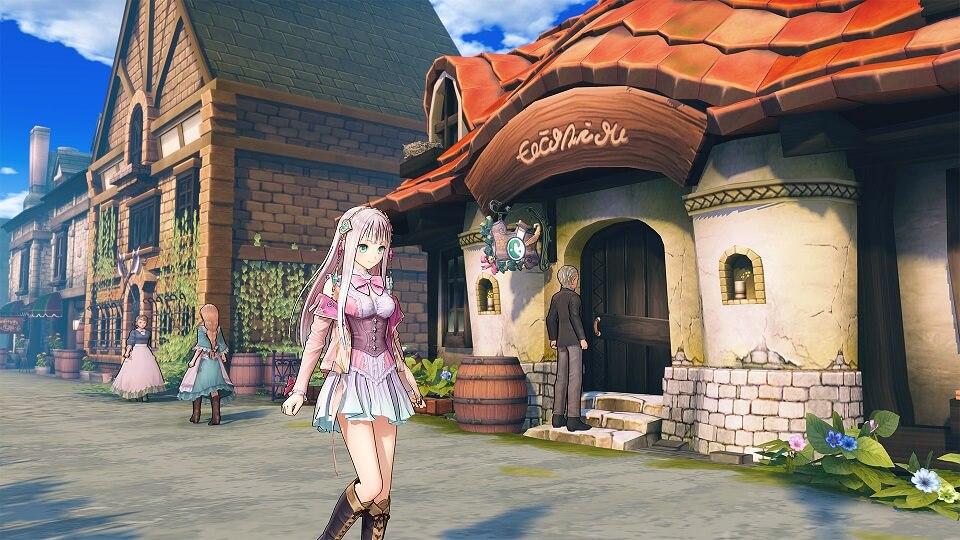 Atelier Lulua The Scion of Arland Lulua in Town