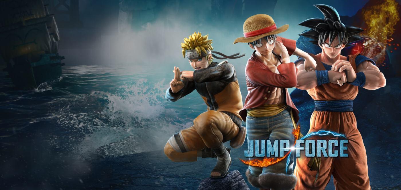 Jump Force Art