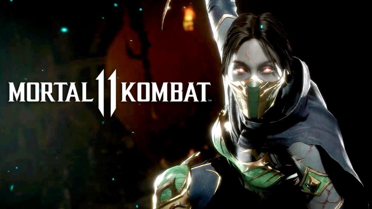 Mortal Kombat 11 Jade Anuncio