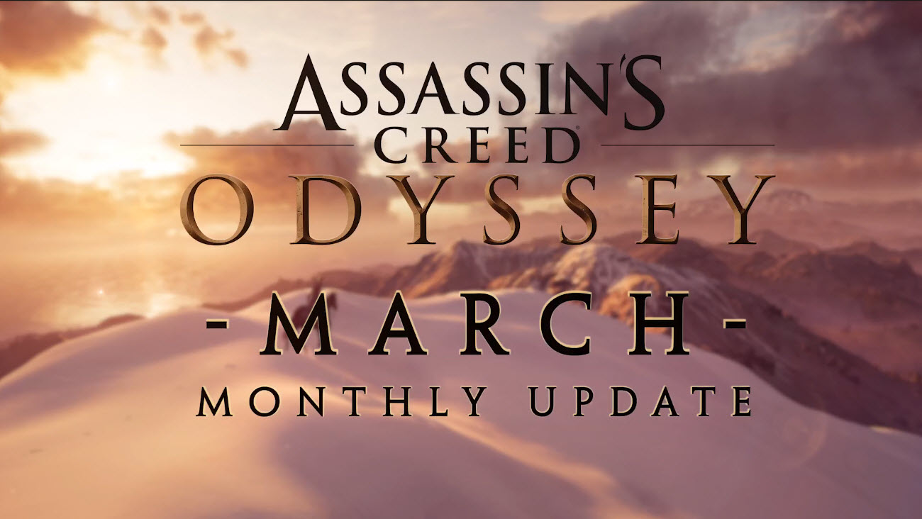 Assassin's Creed Odyssey Marzo 2019