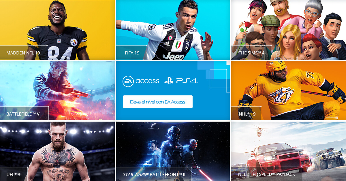 EA Access PS4 1