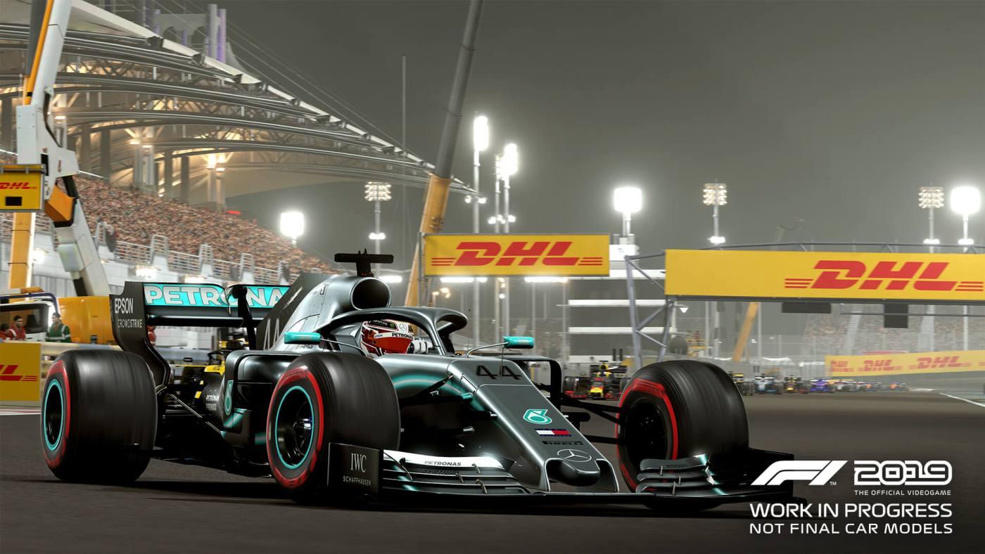 F1 2019 Work
