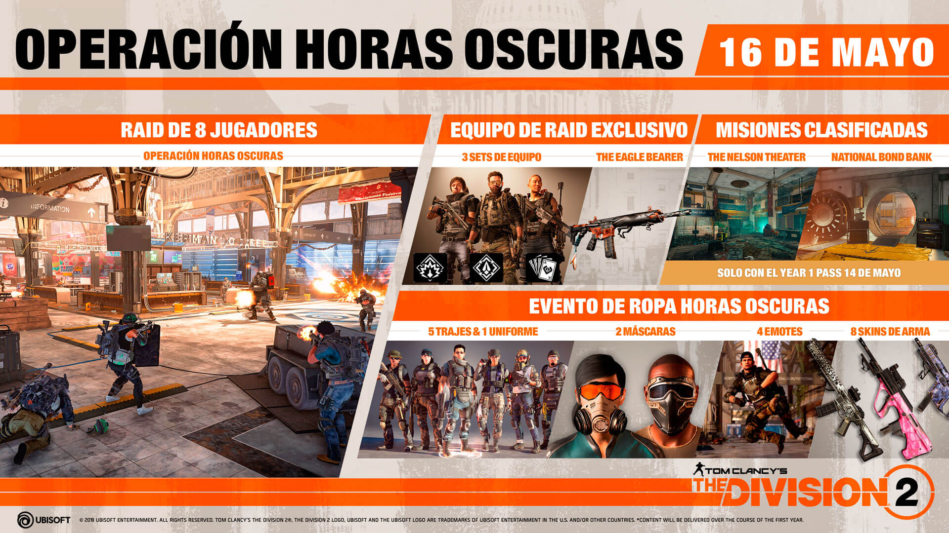 Tom Clancy's The Division 2 Operación Horas Oscuras 2