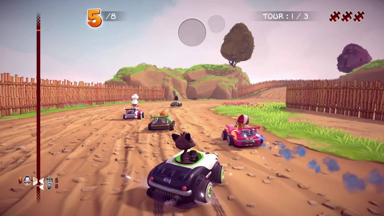 Garfield Kart Furious Racing Screen 1