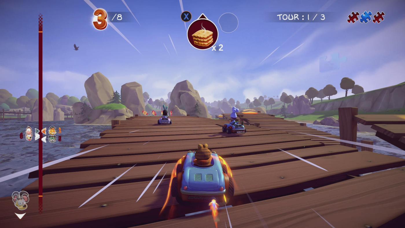 Garfield Kart Furious Racing Screen 2