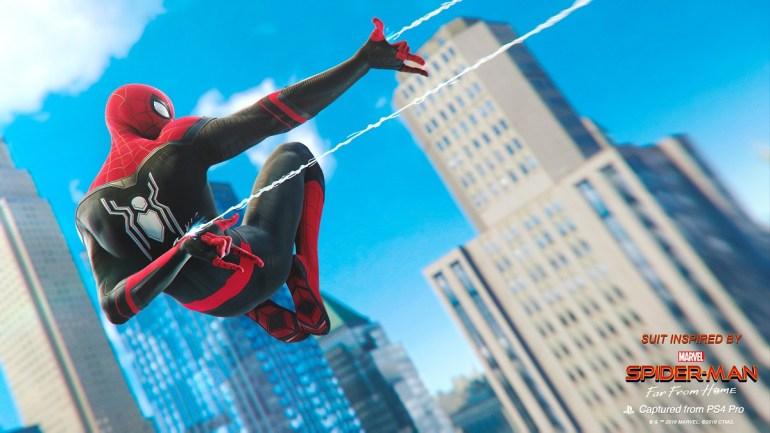 trajes de la película Spider-Man