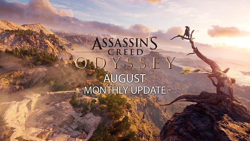 Assassins Creed Odyssey Agosto 2019