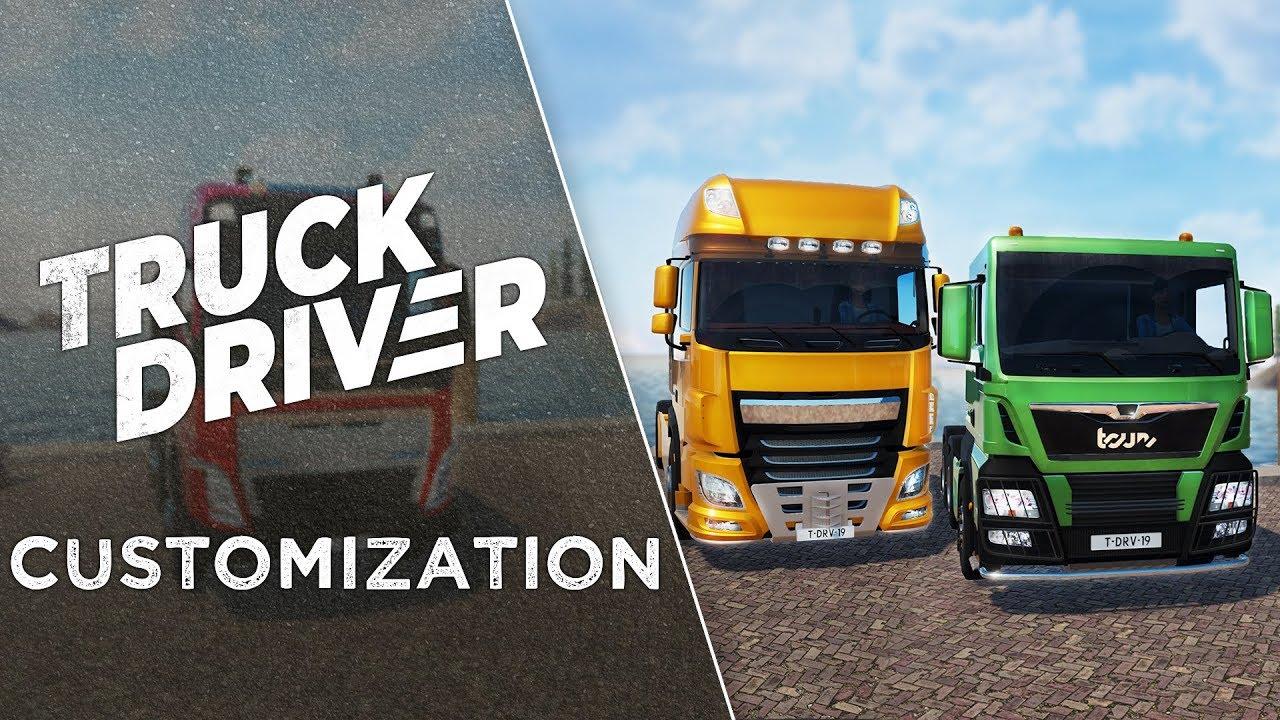 Truck Driver Personalización