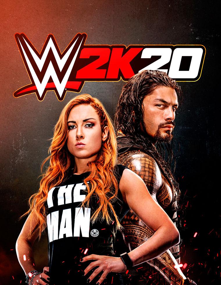 WWE 2K20 Portada