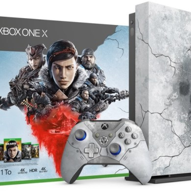 Xbox One X de Gears